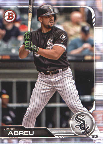 Photo of 2019 Bowman #55 Jose Abreu