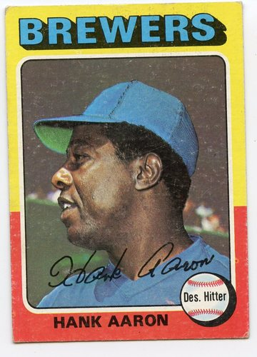 Photo of 1975 Topps #660 Hank Aaron