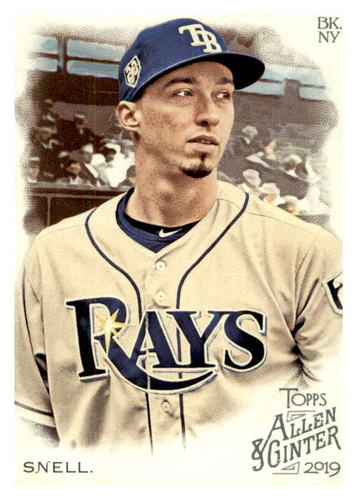 Photo of 2019 Topps Allen and Ginter #93 Blake Snell