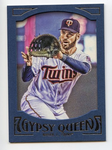 Photo of 2016 Topps Gypsy Queen Framed Blue #36 Joe Mauer