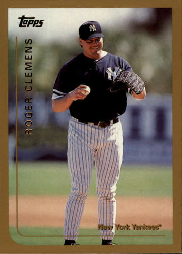 Photo of 1999 Topps #334 Roger Clemens