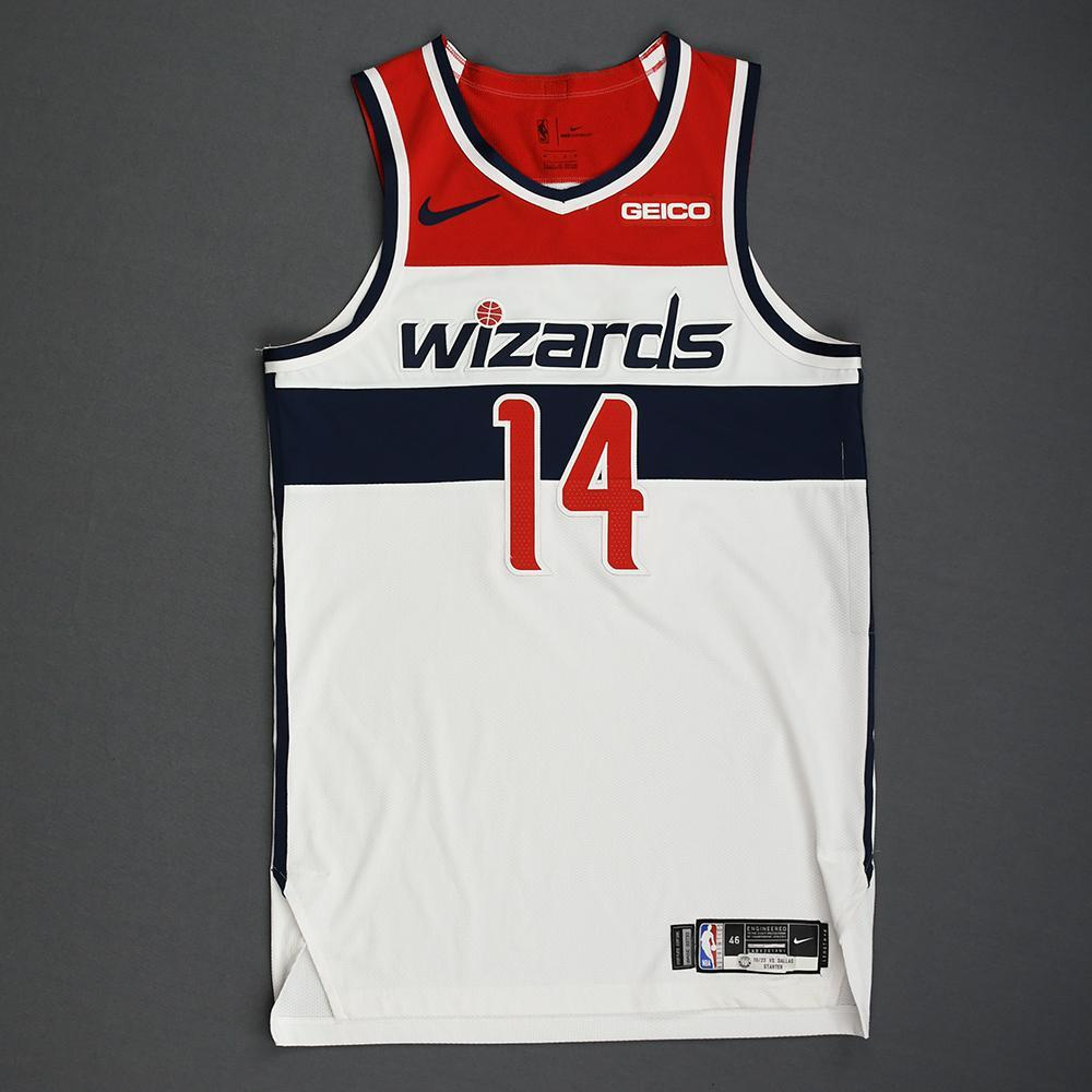 Ish Smith - Washington Wizards - Kia NBA Tip-Off 2019 - Game-Worn Association Edition Jersey - Wizards' Debut