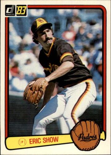 Photo of 1983 Donruss #439 Eric Show RC