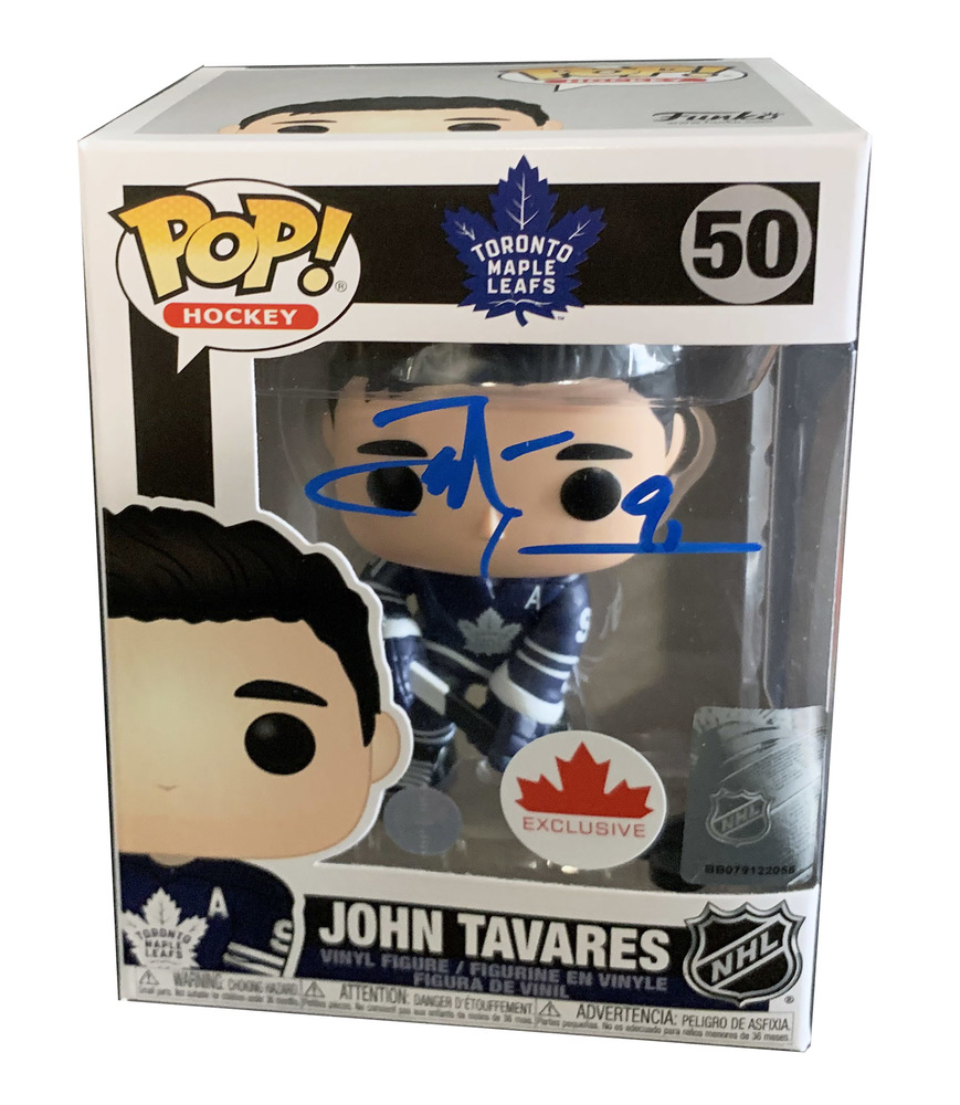 John Tavares Signed Funko Pop Maple Leafs