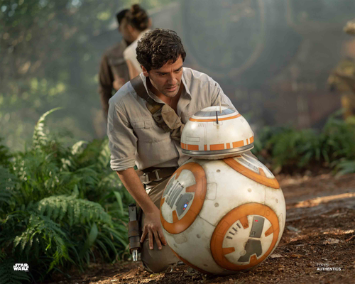 Poe Dameron and BB-8