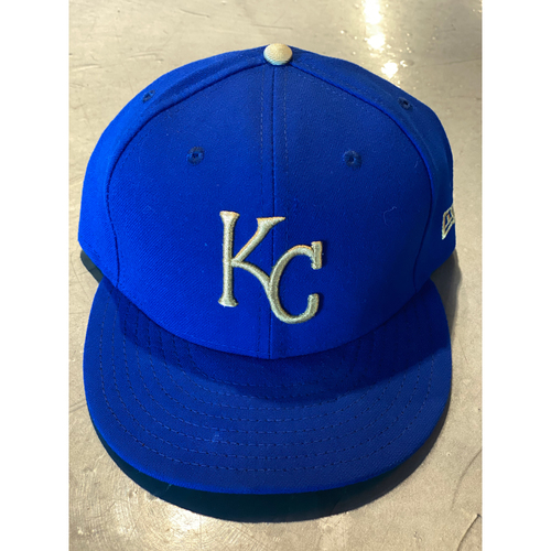Photo of Game-Used Cap: Alex Gordon (Size 7 1/2 - MIN @ KC - 9/27/19)