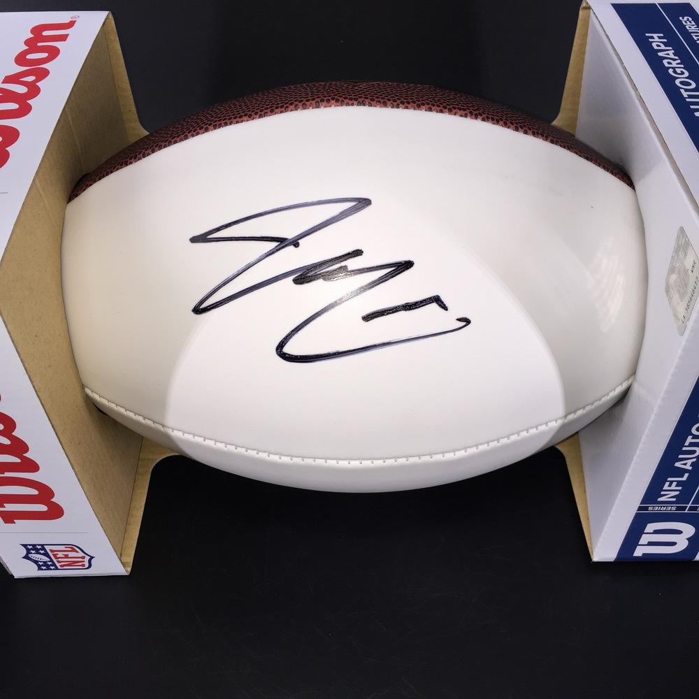 NFL - Redskins Bryce Love Signed Panel Ball