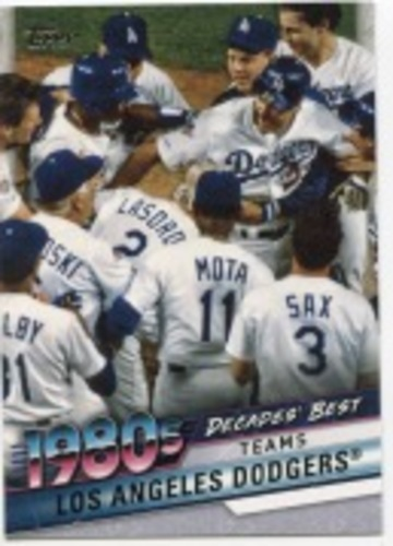 Photo of 2020 Topps Decades' Best Series 2 #DB57 Los Angeles Dodgers