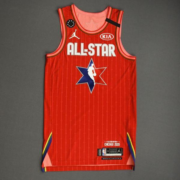 Image of KembaWalker - 2020 NBA All-Star - Team Giannis - Autographed Jersey