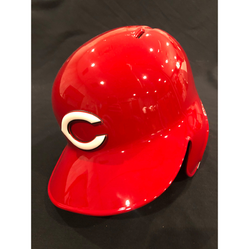 "Photo of Reds Commemorative ""No. 14"" Retired Number Helmet -- (Not MLB Authenticated, COA Included) -- Helmet Scheduled to Arrive Prior to Dec 24"