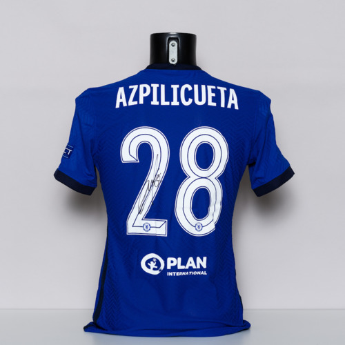 Photo of 20/21 Chelsea FC Jersey - signed by Cesar Azpilicueta