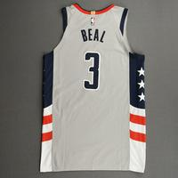 Bradley Beal - Washington Wizards - Game-Worn City Edition Jersey - Worn 2 Games - Scored 39 and 29 Points - 2020-21 NBA Season