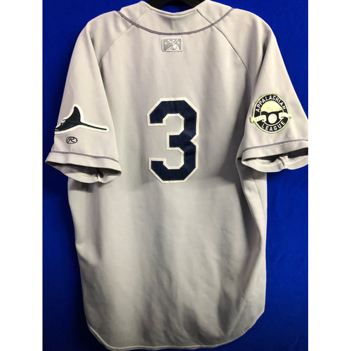 Photo of Team Issued Appalachian League Gray Jersey - #3