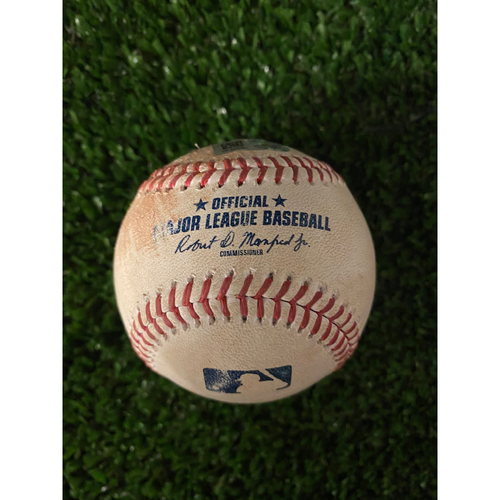 Bo Bichette and Vladimir Guerrero Jr. Hit Single Baseball (Guerrero RBI Single) - May 11, 2021 off AJ Minter