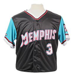 Photo of Kramer Robertson Autographed Game-Worn 2021 Grizzlies-themed Jersey
