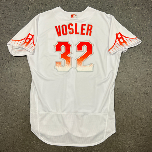 Photo of 2021 Team Issued City Connect Jersey - #32 Jason Vosler - Size 48