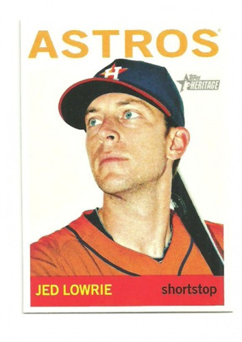 Photo of 2013 Topps Heritage #229 Jed Lowrie