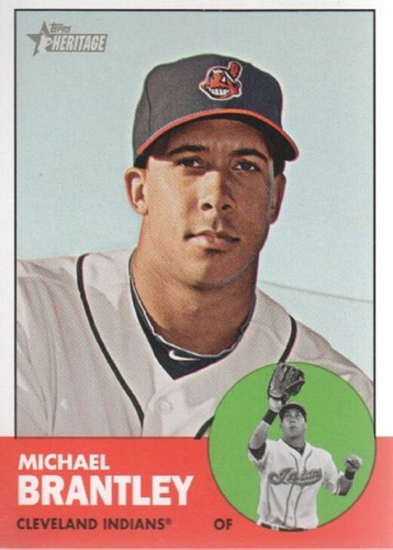 Photo of 2012 Topps Heritage #103 Michael Brantley