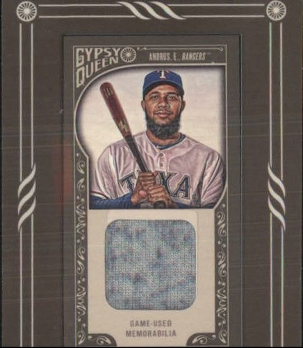 Photo of 2015 Topps Gypsy Queen Framed Mini Relics #GMREA Elvis Andrus