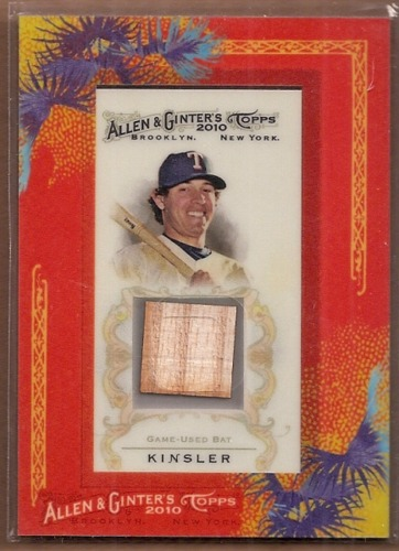 Photo of 2010 Topps Allen and Ginter Relics #IK Ian Kinsler