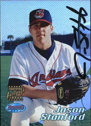 Photo of 2002 Bowman's Best #172 Jason Stanford AU A RC