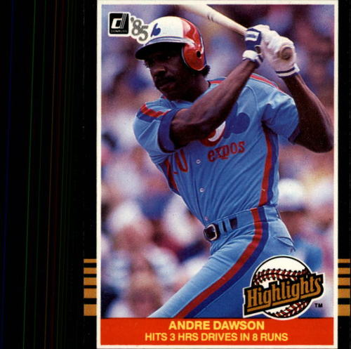 Photo of 1985 Donruss Highlights #41 Andre Dawson
