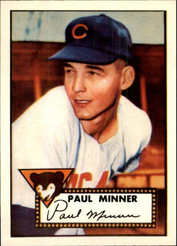 Photo of 1983 Topps 1952 Reprint #127 Paul Minner