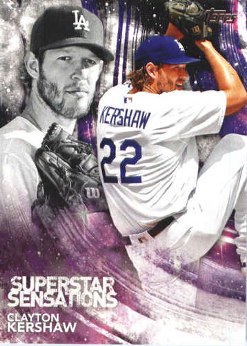 Photo of 2018 Topps Superstar Sensations #SSS12 Clayton Kershaw