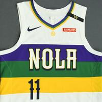Jrue Holiday - New Orleans Pelicans - Game-Worn City Edition Jersey - 2018-19 Season