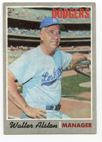 Photo of 1970 Topps #242 Walter Alston MG