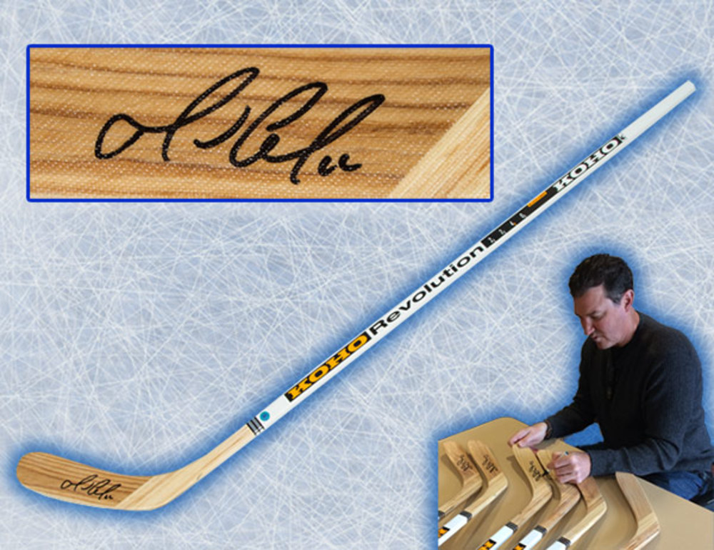 Mario Lemieux Pittsburgh Penguins Autographed KOHO Revolution Hockey Stick