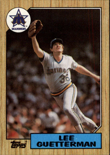 Photo of 1987 Topps #307 Lee Guetterman