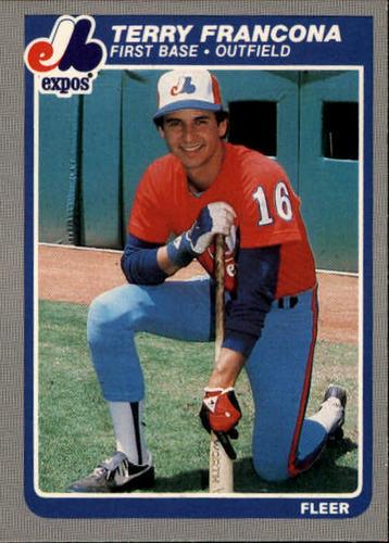Photo of 1985 Fleer #398 Terry Francona