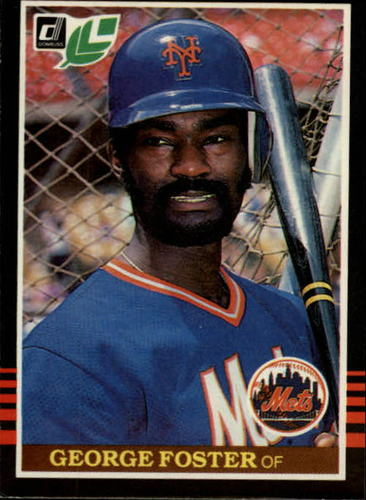 Photo of 1985 Leaf/Donruss #42 George Foster