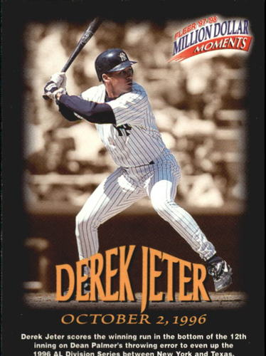 Photo of 1997-98 Fleer Million Dollar Moments #2 Derek Jeter