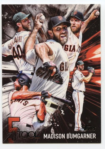 Photo of 2017 Topps Five Tool #5T36 Madison Bumgarner