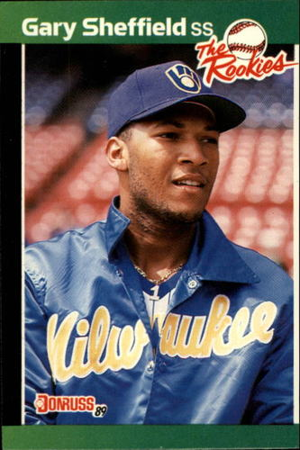 Photo of 1989 Donruss Rookies #1 Gary Sheffield