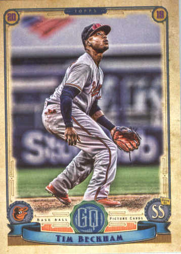 Photo of 2019 Topps Gypsy Queen #167 Tim Beckham