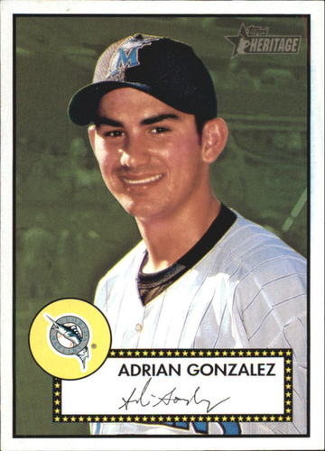 Photo of 2001 Topps Heritage #180 Adrian Gonzalez