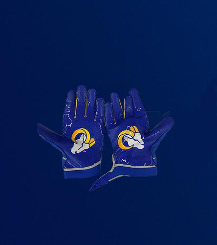 Photo of Leonard Floyd Game Used Gloves - (9/27/20 VS. Buffalo Bills)