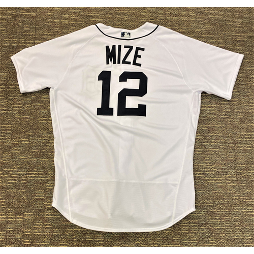 Photo of Casey Mize #12 Detroit Tigers Game-Used Home Jersey - Rookie Season (MLB AUTHENTICATED)