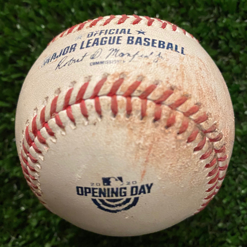 Photo of Jose Alvarado Pitched to Dansby Swanson, Ball - 2020 Opening Day - 7/29/20 vs. TB