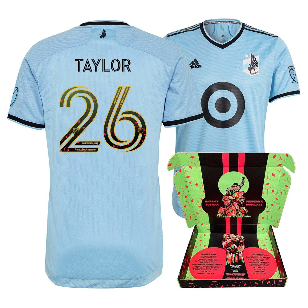 David Taylor Minnesota United FC Player-Issued & Signed