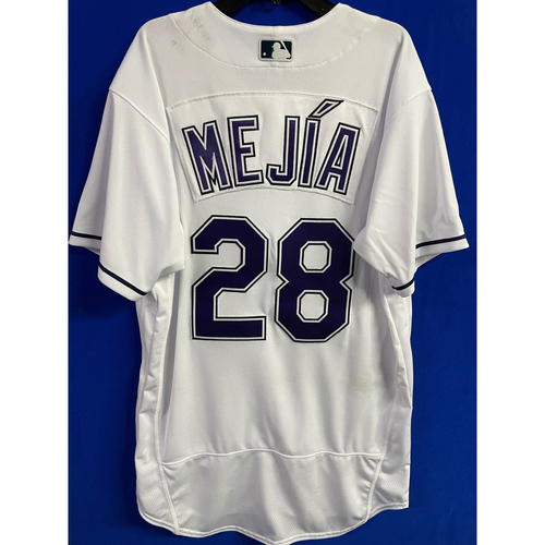 Photo of Game Used Devil Rays Jersey: Francisco Mejia - May 29, 2021 v PHI