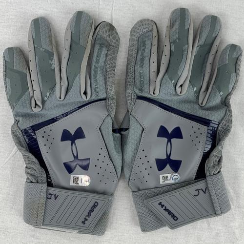 Photo of Justin Verlander Team Issued Batting Gloves