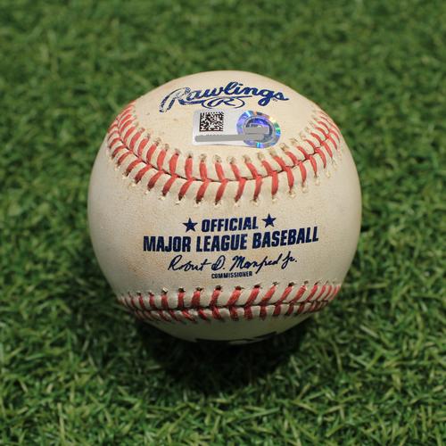 Photo of Game-Used Baseball: Nick Madrigal 66th Career Hit (CWS@KC 5/9/21)