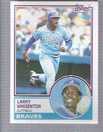 Photo of 1983 Topps #544 Larry Whisenton