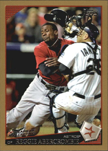 Photo of 2009 Topps Gold Border #256 Reggie Abercrombie