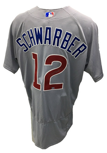 Kyle Schwarber Autographed Jersey