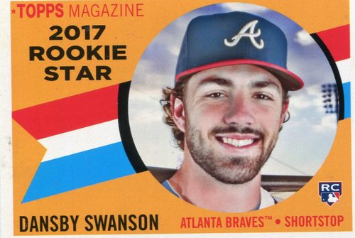 Photo of 2017 Topps Archives '60 Rookie Stars #RS4 Dansby Swanson